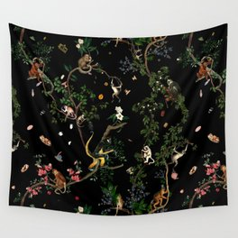 Monkey World Wall Tapestry