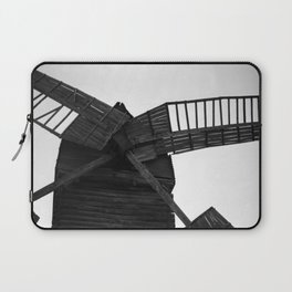 Wooden Windmill Laptop Sleeve