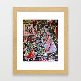 pink elephant #5 Framed Art Print