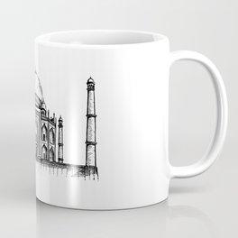 Taj Mahal Hand Drawing Coffee Mug
