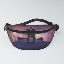 """""""Moments"""" by Barry James Lee Fanny Pack"""