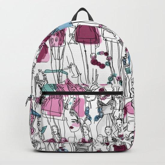 funny fashion girls Backpack