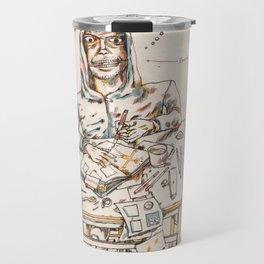 Autorretrat amb ewoks Travel Mug