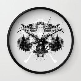 Psychological Test Wall Clock