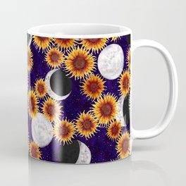 Celestial Sunflowers Coffee Mug