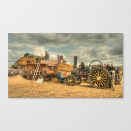 Dorset Threshing Canvas Print