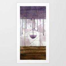 Vinaceous Art Print