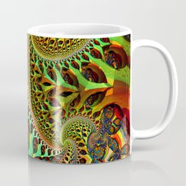 the fractal tree Coffee Mug