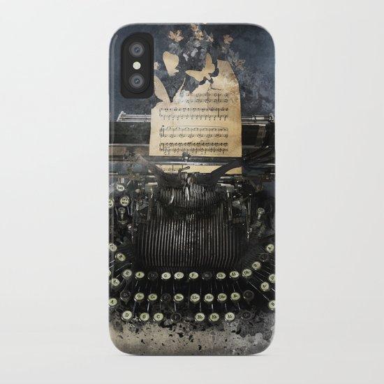 Piandemonium - Writers' Waltz iPhone Case