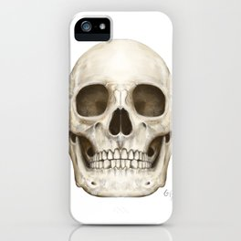 Digital Skull Painting iPhone Case