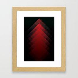 The Mountains of Mars Framed Art Print