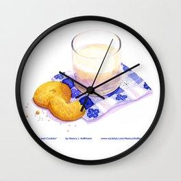 Milk & Cookies Wall Clock