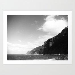 Vint B&W –Madeira Art Print
