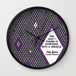 Everyone Gets a Miracle Wall Clock