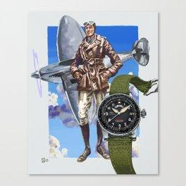 IWC Timezoner Spitfire Canvas Print
