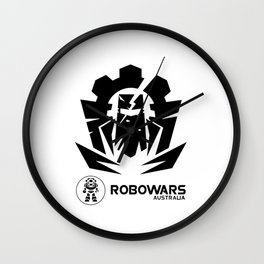 Robowars STAFF COMPETITOR Wall Clock