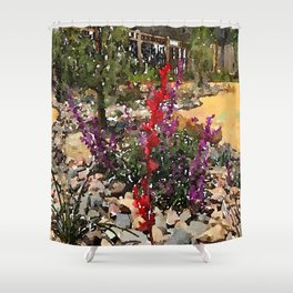 California Lawn Shower Curtain