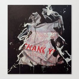 Thank you bag Canvas Print