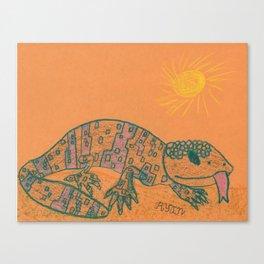 Gila Monster Canvas Print