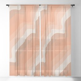 Soleil Waves Sheer Curtain