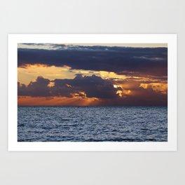 North sea bliss Art Print