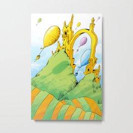 Dr Seuss Metal Print