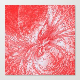 Splatter in Fruit Punch Canvas Print