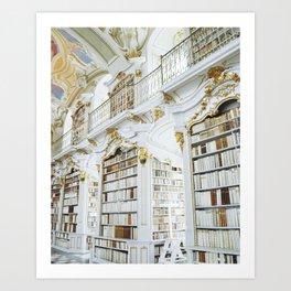 Admont Abbey Library Art Print
