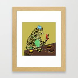 """Your camouflage doesn't work here, you do"". Framed Art Print"
