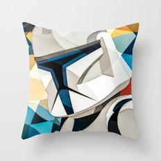 Clone Wars Soldier Throw Pillow