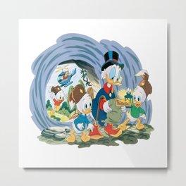 DuckTales Metal Print