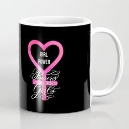Girl Power Powers Girls (Dark) Coffee Mug