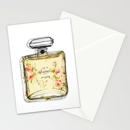 perfume Bottle C No5 Stationery Cards