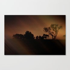Mysterious Night Canvas Print