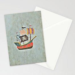 Vintage Pirates Stationery Cards