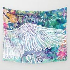 Depth of Flight Wall Tapestry