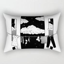 Thinking about you Rectangular Pillow