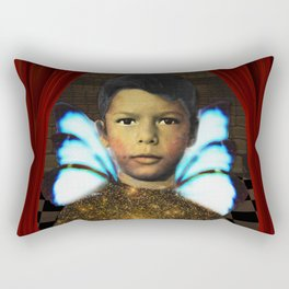The Rebellious Acolyte Rectangular Pillow