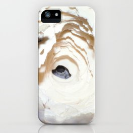 Watercolor Rock, Lechuguilla Cave 09, New Mexico, The Dripped Upon iPhone Case