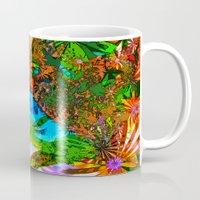 aloha Mugs featuring Aloha by Glanoramay