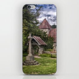 East Chiltington Church iPhone Skin