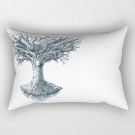 The Tree of Many Things Rectangular Pillow