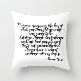frasier crane-quote Throw Pillow