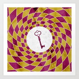 Phantom Keys Series - 08 Art Print
