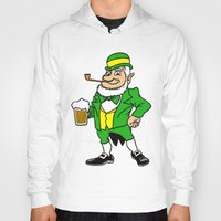 patrick Hoodies featuring St. Patrick by Rab Sizzle