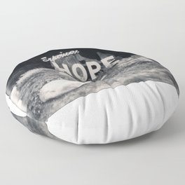 Hope Spectra B&W Floor Pillow