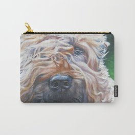 Soft-coated Wheaten Terrier from an original painting by L.A.Shepard Carry-All Pouch