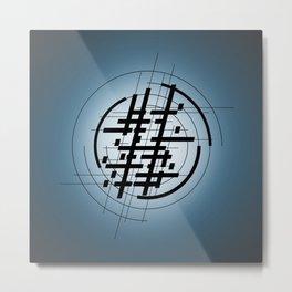 AbstractStripes Metal Print