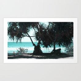 a day at the Beach 9 Art Print