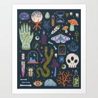 Curiosities Art Print